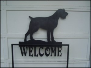Custom welcome signs at Stewart Scenic Signs and Metal Art